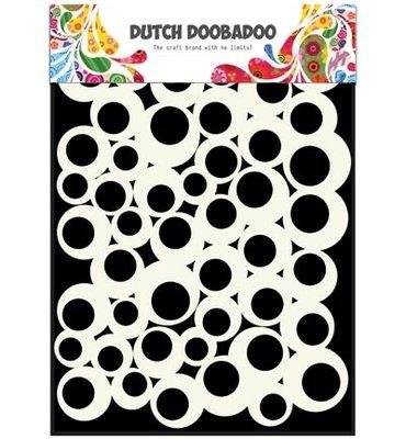 Dutch Doobadoo, DDBD Dutch - Mask Art -  A5 Bubbles 2