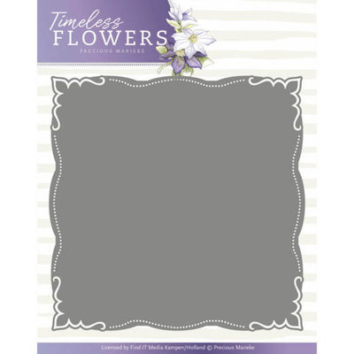 Dies - Precious Marieke - Timeless Flowers - Frame Layered Dies PM10124