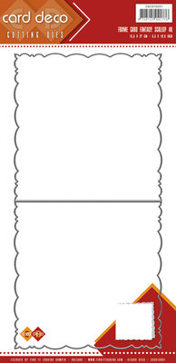Card Deco Cutting Dies- Fantasy Scallop CDCD10001