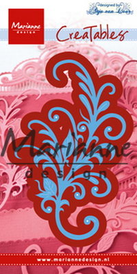 Creatables stencil Anja's floral ornament LR 0526