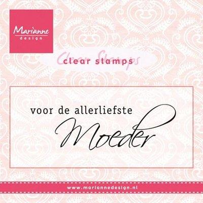 Marianne D Stempel Voor de allerliefste MOEDER (NL) CS0931
