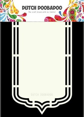 Dutch Doobadoo Dutch Shape Art Bookmark A5 470.713.164