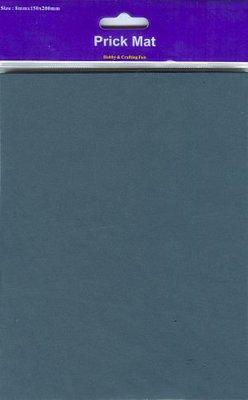 Prik mat (zwart)