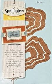 Spellbinders  Shapeabilities D-Lites - Petite Labels One   S3-205