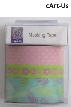 cArt-Us masking tape 3x5m assorted summergarden