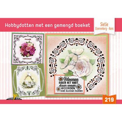 Hobbydols 219 Met een gemengd boeket - Sietie Steerenberg - Bons HD219