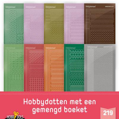 Stickerset Hobbydols 219 STSHD219