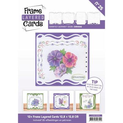 Frame Layered Cards 25 - 4K LC4K10025