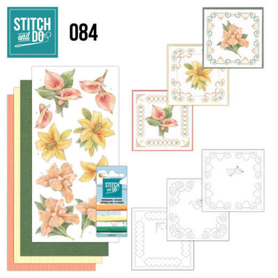 Stitch and Do 84 - Yellow Flowers STDO084