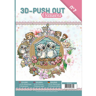 3D Push Out Book - Occasions 3DPO10007
