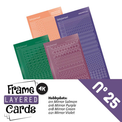 Frame Layered Cards 25 - Stickerset LCST025