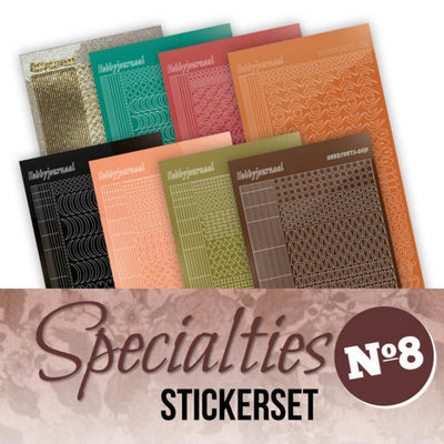 Specialties Stickerset 8 SPECSTS008