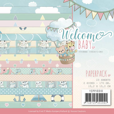 Paperpack - Yvonne Creations - Welcome Baby YCPP10018