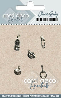 Card Deco Essentials - Charms Baby CDECH001
