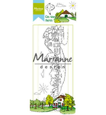 Marianne design, Clear Stamp -HT1632 - Hetty's on the farm