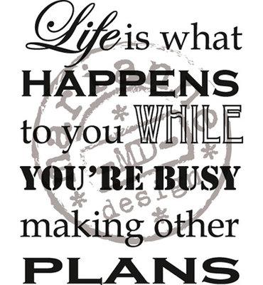 Marianne design, CS0901 - Life is what happens