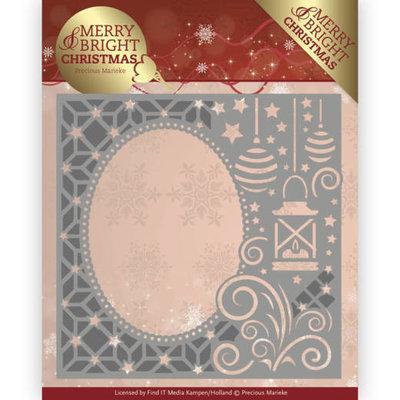 Dies - Precious Marieke - Merry and Bright Christmas - Lantern Frame PM10125