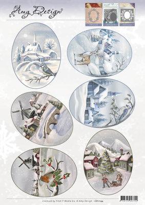 3D Topper - Amy Design - Winter Landscapes CD11144
