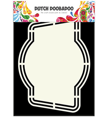 DDBD Dutch Shape Art Label 4 A5