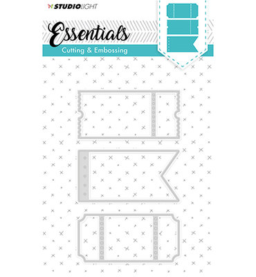 STENCILSL100 - Embossing Die Cut Stencil Essentials nr.100