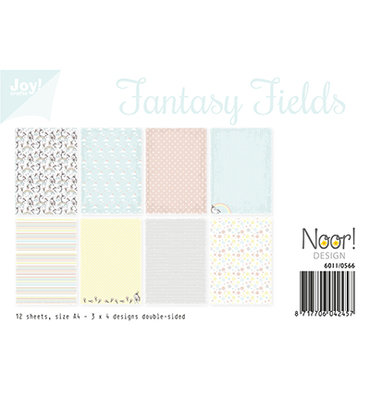 Papierset - Fantasy Fields