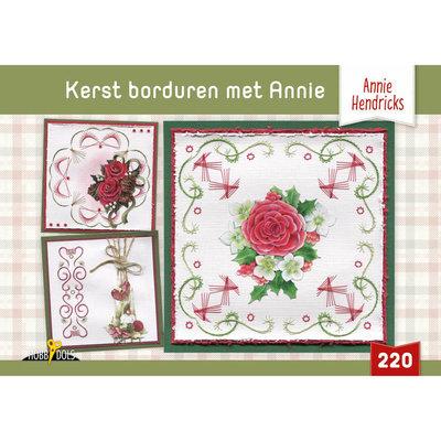 Hobbydols 220 Kerst borduren met Annie - Annie Hendricks HD220