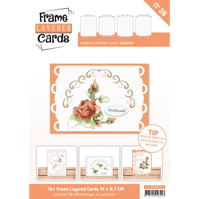 Frame Layered Cards 26 - A6 LCA610026