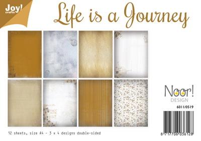 Joy! papierset life is a journey 6011/0519