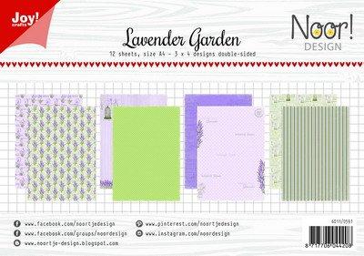 Joy! papierset lavender garden 6011/0591