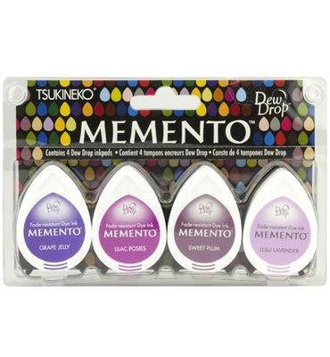 Memento Dew Drops Sets - MD-100-003 - Juicy Purples
