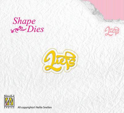 Nellies - Shape Dies - Liefs - SD090