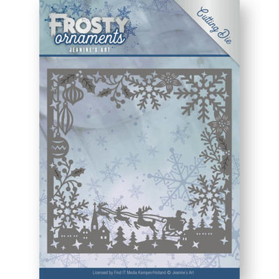Dies - Jeanine's Art - Frosty Ornaments - Frosty Frame JAD10041