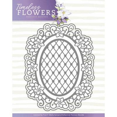Dies - Precious Marieke - Timeless Flowers - Clematis Oval PM10119