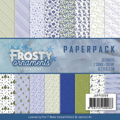 Paperpack - Jeanine's Art - Frosty Ornaments JAPP10006