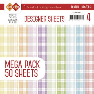 Designer Sheets Mega Pack 3 - Tartan - Pastels CDDSMP004
