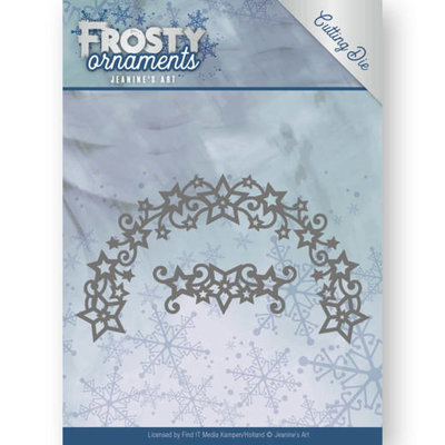 Dies - Jeanine's Art - Frosty Ornaments - Frosty Wreath JAD10048