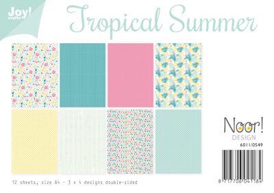 Joy! papierset tropical summer 6011/0549