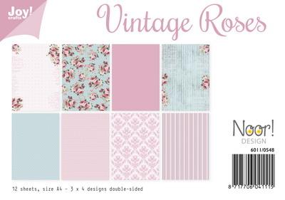 Joy! papierset vintage roses 6011/0548
