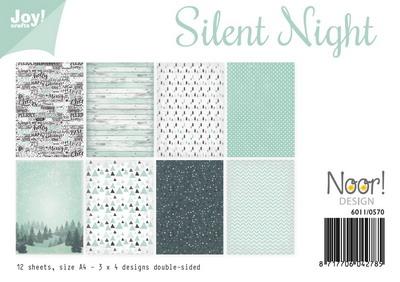 Joy! papierset - silent night 6011/0570