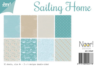 Joy! papierset - sailing home 6011/0569