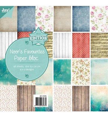 Joy! papierblok 15x30 cm Noor's favourites 6011/0396