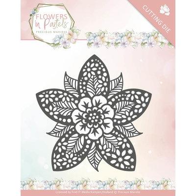 Dies - Precious Marieke - Flowers in Pastels - Reverse Flower PM10135
