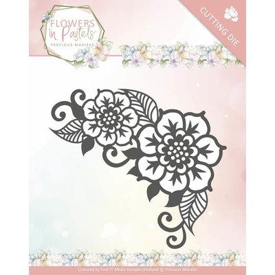 Dies - Precious Marieke - Flowers in Pastels - Floral Corner PM10136