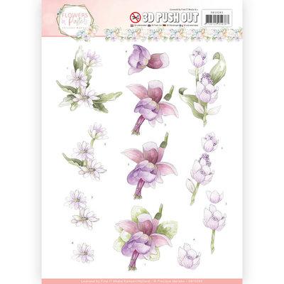 3D Pushout - Precious Marieke - Flowers in Pastels - Lilac Mist SB10283