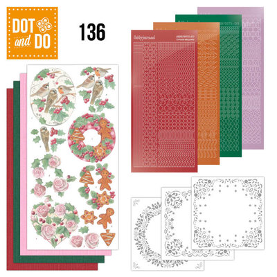 Dot and Do 136 - Christmas Florals DODO136