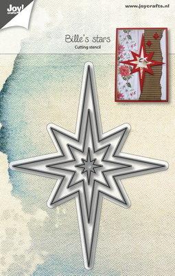 Joy! stencil 6002/1020- stencil Bille's sterren