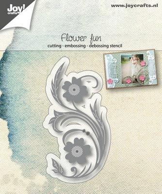 Joy! stencil 6002/1095 - stencil bloemenpret