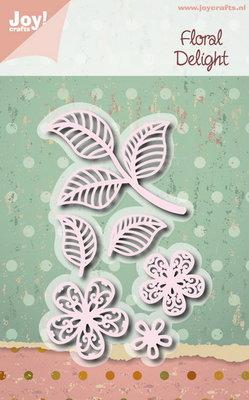 Joy! stencil 6002/1114 - stencil floral delight