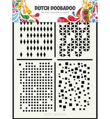 DDBD Dutch Mask Art Multistencil  470.715.129