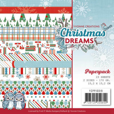 Paperpack - Yvonne Creations - Christmas Dreams YCPP10019